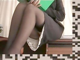 upskirt office